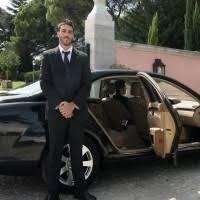 conductor con coche en Barcelona